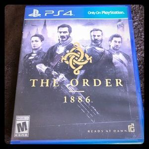 """PS4 """"The Order"""" Like New"""